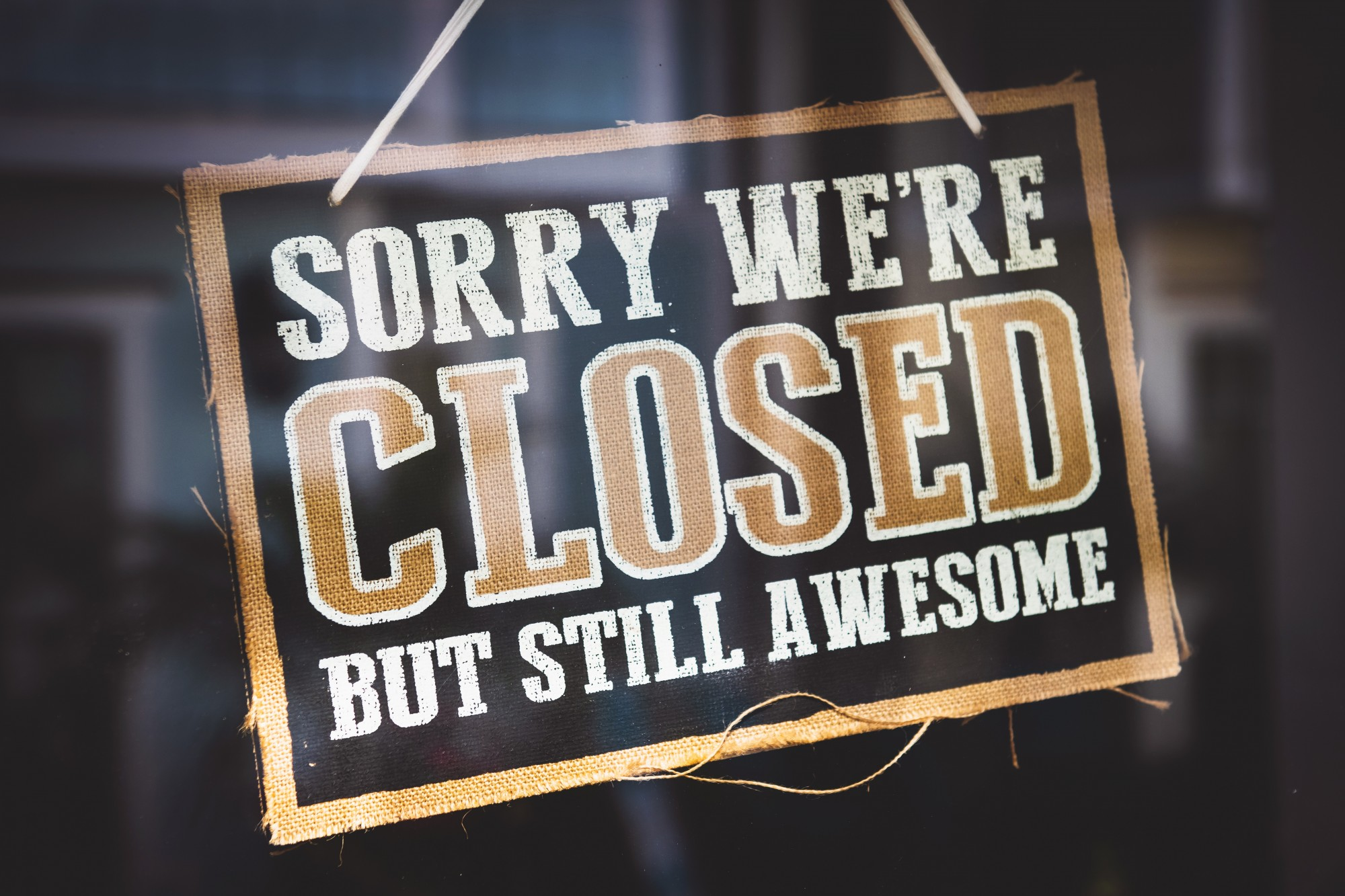 We're closed Oct. 9-11 to serve you better