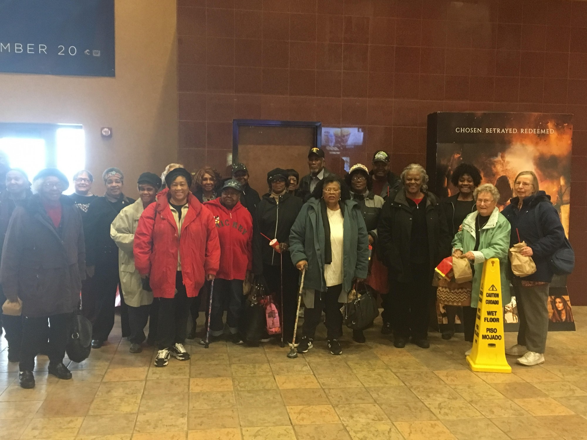 North End Elders at the Movies