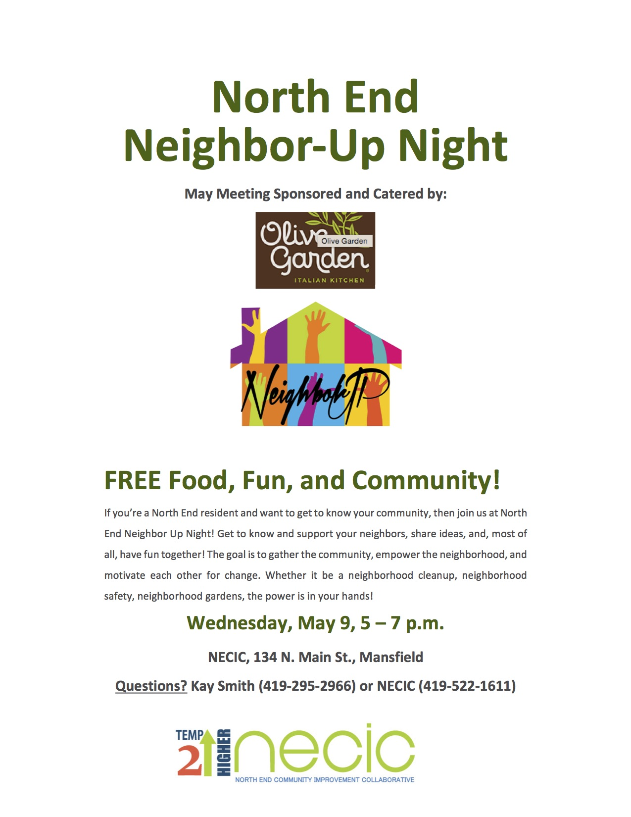 March Neighbor Up Night Sponsored by Chipotle