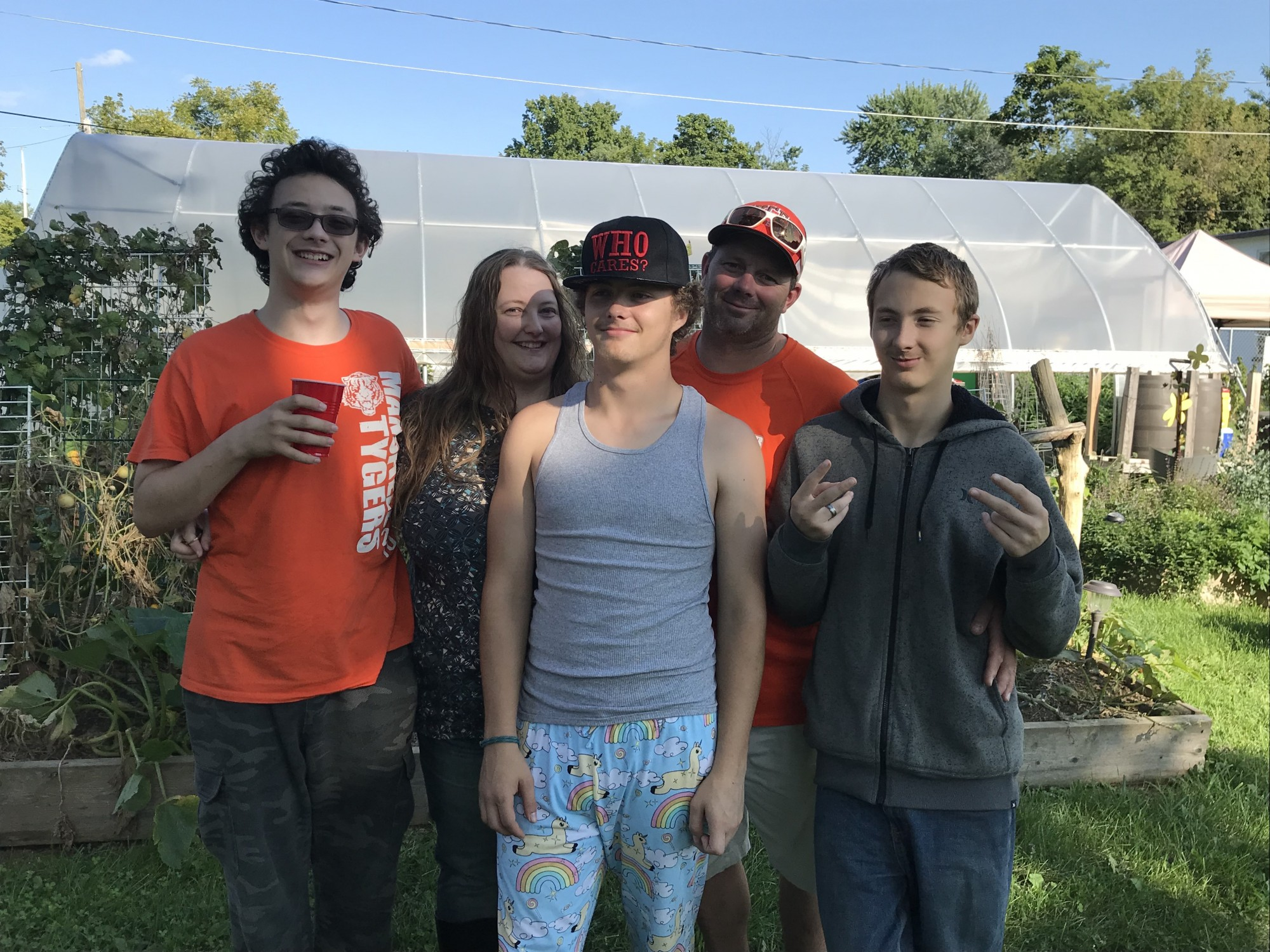 North End Resident Spotlight: Meet the Hunter Family