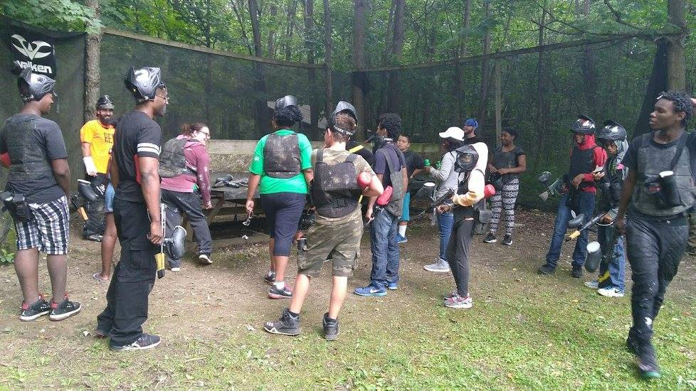 Paintball Fun With ROAR